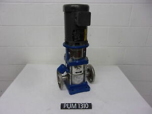 Goulds 2SVB1D2B6 Series SSV 3/4 hp Vertical Booster Pump (PUM1310)