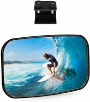 Wake Boat Ski Mirror Rearview Marine Water Safety Rear View Windshield Convex