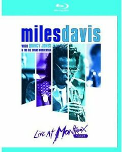 Miles Davis: Live at Montreux 1991 BLU-RAY NEW