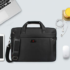 "Premium 15.6"" Zipper Laptop Shoulder Bag Business Messenger Handbag Briefcase"