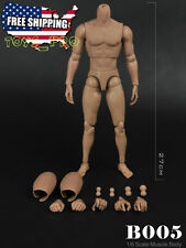 "ZY 1/6 Scale Muscular Body Narrow Shoulder For 12"" Male Head Sculpt B0005 USA"