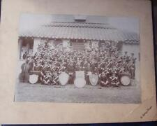 Military  Ephemera - Military Band  Group Photograph - Soldiers  Regiments