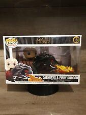 Daenerys & Fiery Drogon  68 Game Of Thrones  Funko POP!  Ride