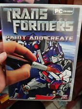 Transformers Paint and Create -  PC GAME - FREE POST