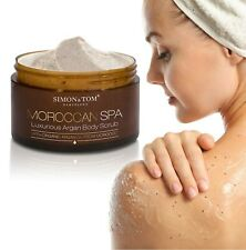 LUXURIOUS BODY SCRUB MOROCCAN SPA - With argan oil, almonds and argan shell p...
