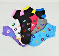 NWT Women's Cotton Low Cut Crew Socks. Shoe Size: 6-10