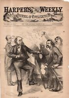1880 Harpers Weekly - Nast - The Democrats are warned to stay away from Porter