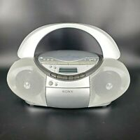 Sony CFD-S350 Cassette Recorder CD Player AM FM Stereo Radio Boombox READ DESC