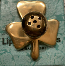 Shamrock Brass Insence stick Holders Nwb made in Ireland 6 Available
