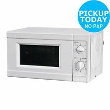 Argos MM717CNF 17l 700w Solo Microwave - White