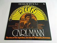 Carl Mann The Sun Story Vol. 6 LP 1977 Sun Vinyl Record