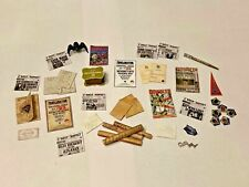 MIXED LOT HARRY POTTER STYLE  ACCESSORIES FOR A 1/12 SCALE DOLLS HOUSE