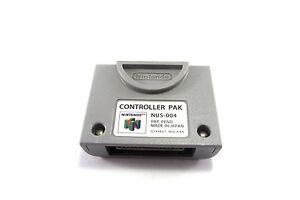 Original N64 Nintendo 64 Controller Pak