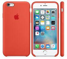 """ORANGE 100%25 GENUINE ORIGINAL Apple Silicone Case iPhone 6 6S 4.7"""""""