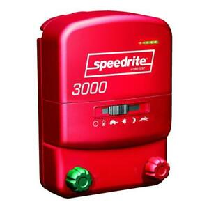 Speedrite 3000 Energizer 30 Mile Fence Charger. AC/DC Powered 120 Acres