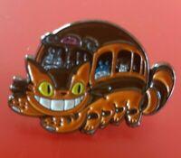 Totoro Cheshire Cat Pin Mashup Movie Enamel Retro Metal Brooch Badge Lapel