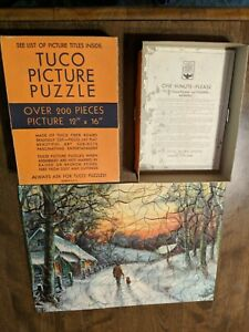 Vintage TUCO Deluxe Picture Puzzle 300-500 Pieces