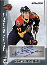 ET)2016-17 ITG Heroes and Prospects Prospect Autographs Ivan Lodnia AUTO