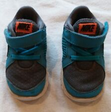 Boys Nike Tennis Shoes Infant Toddler Size 5T Blue Velcro