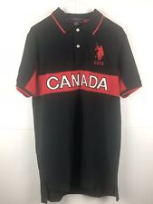 NEW Us Polo Assn Shirt Canada Team - M