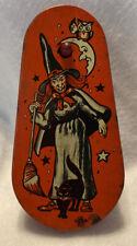 Vintage 1940s Halloween Noise Maker Ratchet US Metal