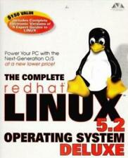 The Complete Redhat Linux Operating System 5.2 Deluxe PC CD desktop OS tools!