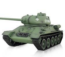 Ferngesteuerter RC Panzer T-34/85 1:16 R + S, Metallgetriebe, 2,4 Ghz Heng Long