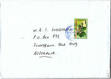 PNG 2014 OVERPRINTS  PLANT/BEACH KALOFILUM K40 ON K3.70  ON COVER (VERY SCARCE)