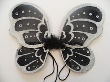 Fairy wings,black and silver