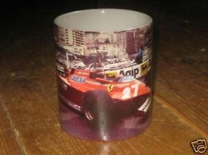 Gilles Villeneuve Monaco 1981 Beautiful MUG