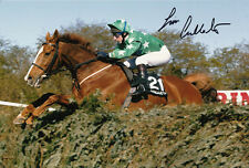 Jim Culloty Hand Signed 12x8 Photo Grand National Winner 2002 Bindaree.
