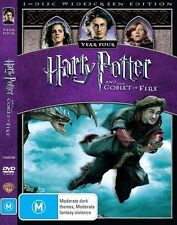 Harry Potter And The Goblet Of Fire (DVD, 2009, region 4, New & Sealed) e3