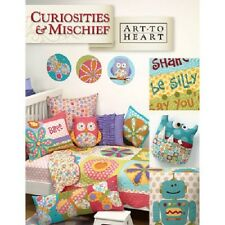 CURIOSITIES & MISCHIEF   by Nancy Halvorsen Art To Heart Quilting & Patchwork Bo