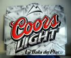 """Coors Light Beer New Metal Sign Large 33 """" x 27 1/2 """" New Old Stock"""