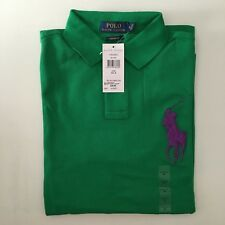Polo Ralph Lauren Custom Fit Camisa Polo Big Pony De Malla