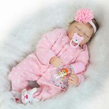 Realistic Silicone Reborn Baby Dolls Real Looking Lifelike Sleeping Newborn Doll