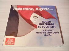 INDOCHINE,    ALGERIE.... CHANTS  PARAS,  LEGION,  COLO..    ROGER   HOLEINDRE