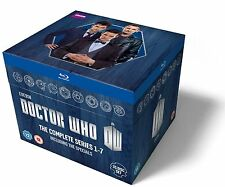 Doctor Who Complete Seasons Series 1, 2, 3, 4, 5, 6 & 7 Blu ray Box Set RB DENT