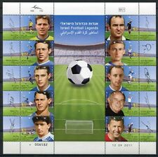 Israele 2011 CALCIO SOCCER FOOTBALL SPORT 2251-2260 piccoli archi post FRESCHI MNH