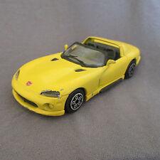 31E Burago 4165 Dodge Viper RT/10 Jaune 1:43