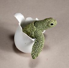 """""""TIPSY TURTLE """" Mobile Rocking Sculpture New Direct by JOHN PERRY Greenish"""