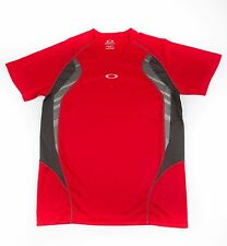 Oakley Men's Chop Chop Short Sleeve Tee Workout Gym T-Shirt Red Size Medium NWT