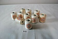 C213 10 boules de fils vintage - AJAX 24 couture ficelle