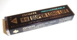 AIWA PB-4S 600 mAh Rechargeable Gumstick Battery USED! FOR PARTS or RESTORE #4