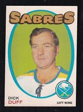 1971-72 DICK DUFF #164 NM OPC Leafs/Canadiens HALL OF FAME Star NHL Hockey Card