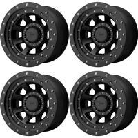 "Set 4 20"" XD XD137 FMJ 20x12 Satin Black 6X135/5.5 Wheels -44mm Lifted Truck Rim"