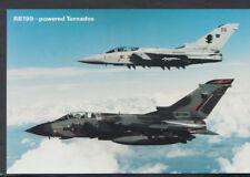 Aviation Postcard - RB199 - Powered Tornados      RR4985