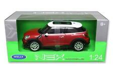 Welly 1/24 Mini Cooper S Paceman Diecast Model Car Red (24050)