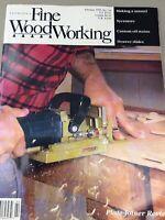 Taunton Fine Wood Working Magazine Vintage February 1995 Home Building Hardware