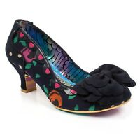 NEW IRREGULAR CHOICE *GREAT MINDS* NAVY (C) HEELS